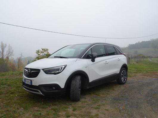 Opel Crossland X su strada