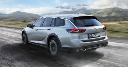 Opel Insignia Country Tourer vista posteriore