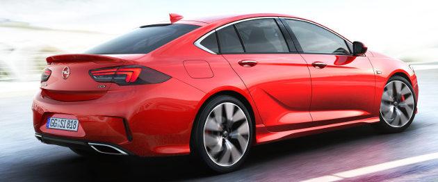 Opel Insignia GSi posteriore
