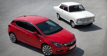 Opel Kadett B, nuova Astra