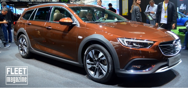 Opel Insignia Country Tourer al Salone di Francoforte 2017