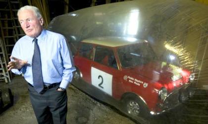 Paddy Hopkirk e la Mini Cooper S