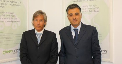 Pantaleo Davide Cormio e Antonino Condurso Green Motion