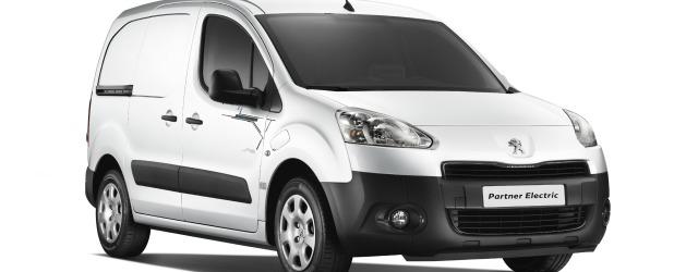 Peugeot Partner elettrico