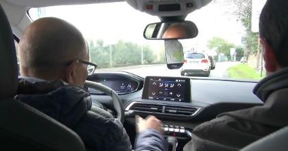 I Fleet Manager durante il Test Drive Peugeot 3008