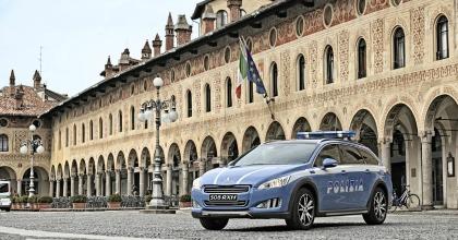 Peugeot 508 RXH, Polizia Stradale