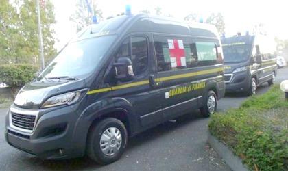 Boxer Peugeot ambulanza Guardia di Finanza