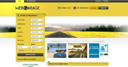 Pneumatici online Webgarage Rhiag