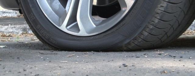Gli pneumatici sgonfi consumano di più