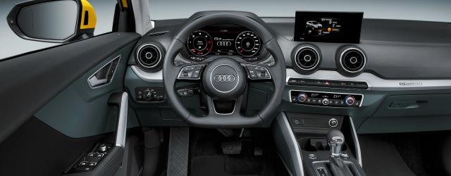 Prova Audi Q2 interni