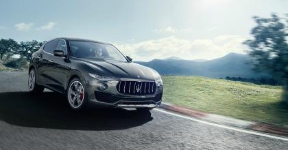 Prova Maserati Levante 2016 in azione
