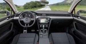 Prova Volkswagen Passat Alltrack abitacolo