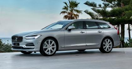 Prova nuova Volvo V90