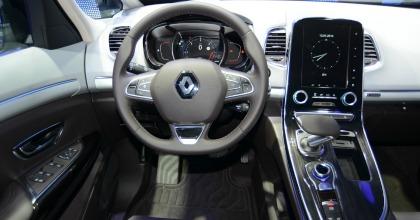Interni della nuova Renault Espace 2015