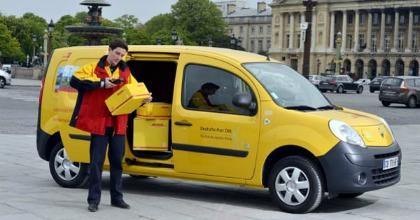 Renault Kangoo Z.E. e Deutsche Post DHL servizi postali
