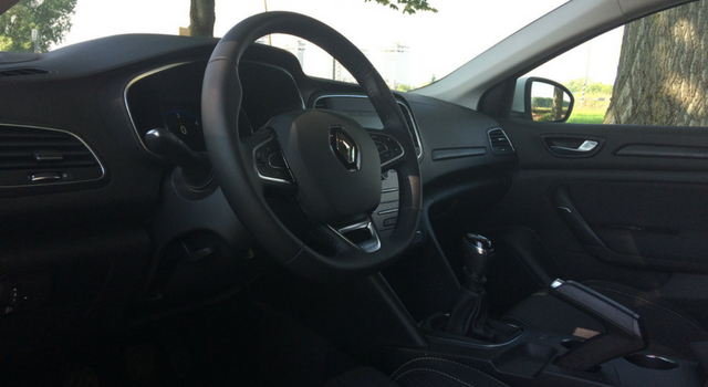 Renault Mégane Sporter abitacolo