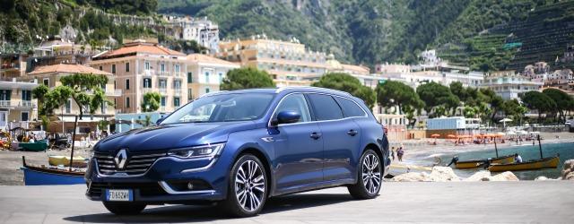Renault Talisman Sporter 2016 blu