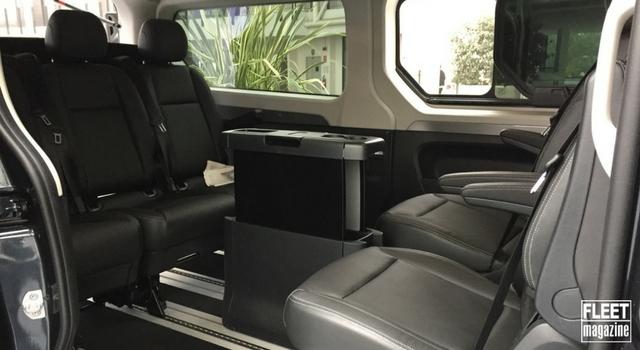 Renault Trafic SpaceClass si presenta come una business lounge viaggiante
