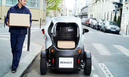 Renault Twizy Cargo elettrico