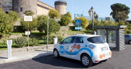 Renault Zoe, il car sharing elettrico a Napoli