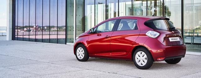 Renault Zoe 2018 esterni