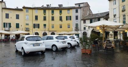 Renault car sharing Lucca