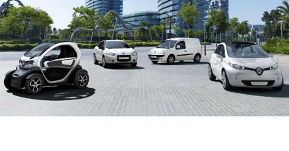 Renault, gamma zero emissioni