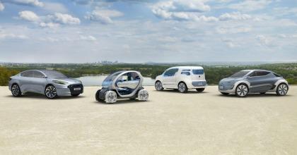 Renault, la gamma Zero Emissioni