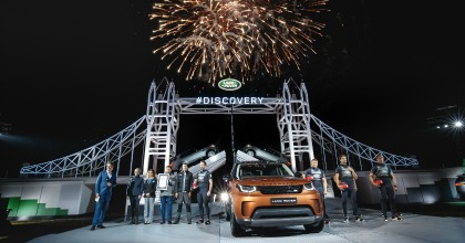 Reveal nuova Land Rover Discovery 2017