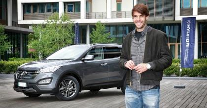 Ricardo Kakà, consegna Hyundai Santa Fe
