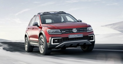 Salone Detroit 2016 Volkswagen Tiguan GTE Active Concept lancio 2016