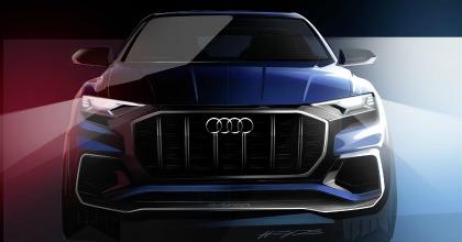 Salone di Detroit 2017 concept Audi Q8
