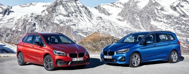 Salone di Ginevra 2018 nuova BMW Serie 2 Active Tourer statica