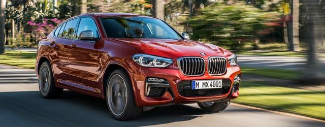 Salone di Ginevra 2018 nuova BMW X4 dinamica