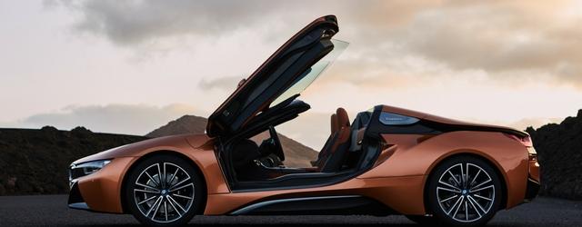Salone di Ginevra 2018 nuova BMW i8 Roadster profilo