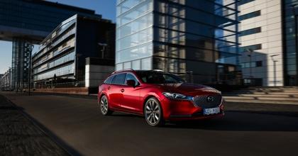Salone di Ginevra 2018 nuova Mazda6 rossa