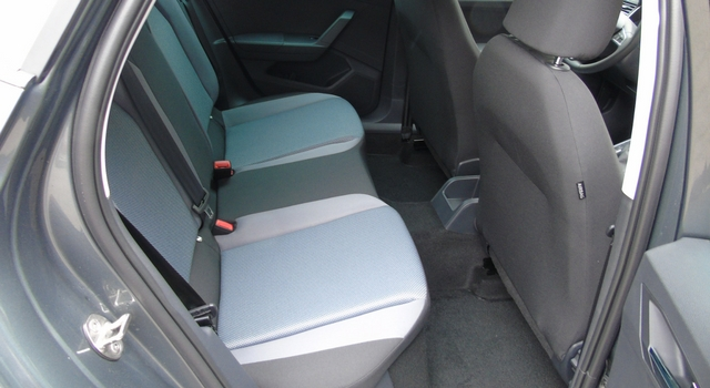 Nuova Seat Arona sedili posteriori