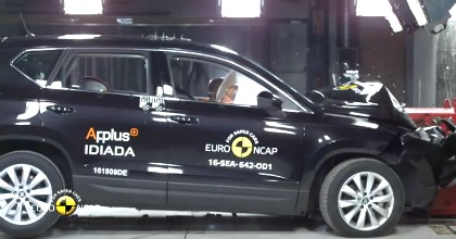 Crash test di Seat Ateca