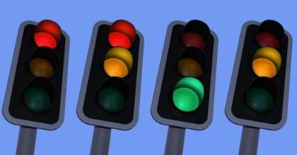 Semafori, traffico