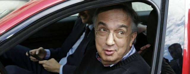 Sergio Marchionne Gruppo FCA in auto