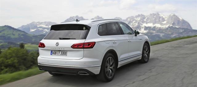Sicurezza nuova Volkswagen Touareg 2018