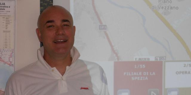 Simone Boeretto spiega la gestione del parco auto di Eismann