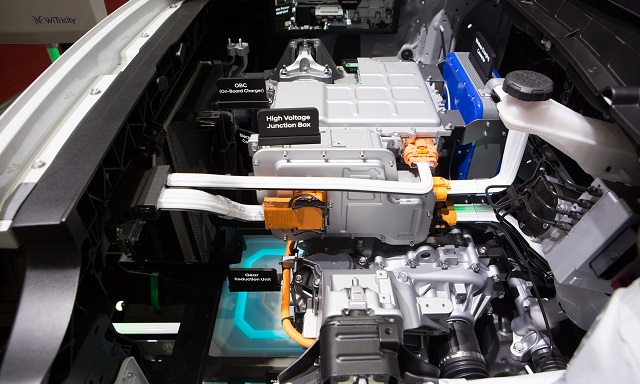 Sistema elettrico Hyundai Kona Electric