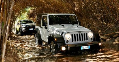 Sistemi trazione integrale Jeep