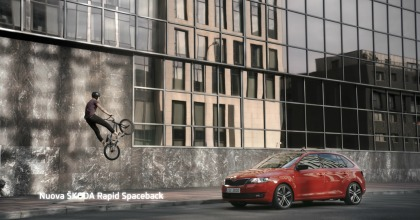 Space is a feeling, la nuova campagna pubblicitaria di Skoda Rapid Spaceback