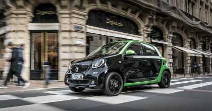 Smart forfour electric drive esterni