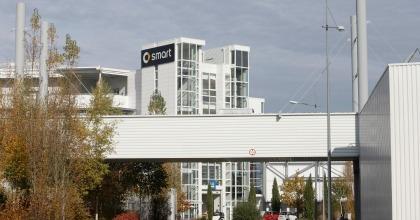 Lo stabilimento Smart di Hambach (Francia)