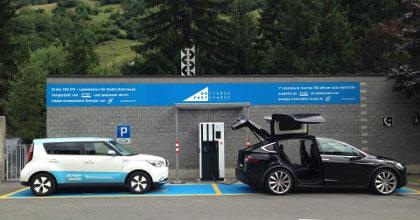 Stazioni di ricarica rapida Auto Elettriche