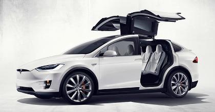 Suv elettrico Tesla Model X 2016