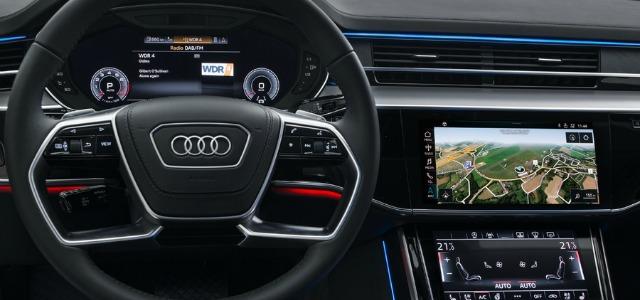 Tecnologia nuova Audi A8